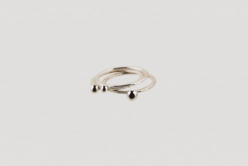 Trio Ring Silber