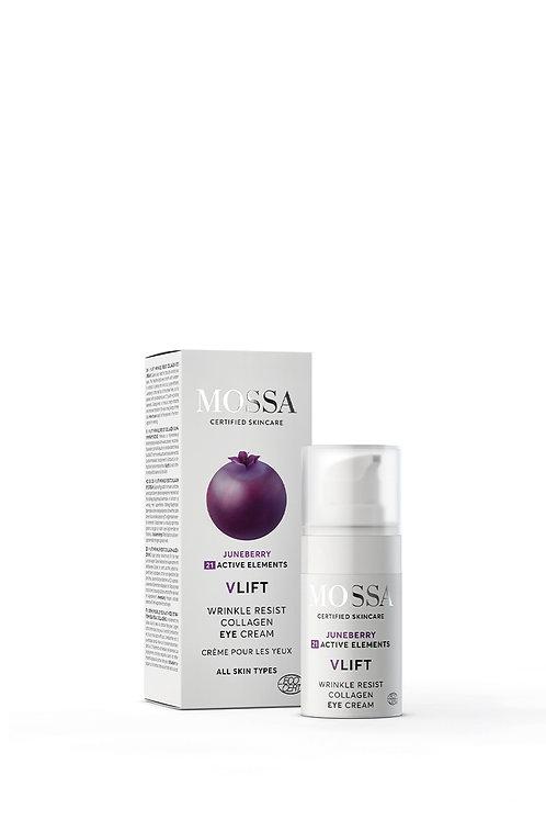 MOSSA V-LIFT Wrinkle Resist Collagen Augencreme