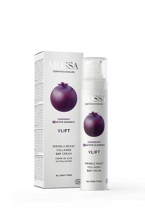 MOSSA V-LIFT Wrinkle Resist Collagen Tagescreme