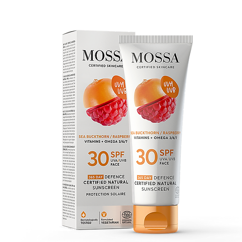 Mossa Cosmetics Sonnencreme LSF 30
