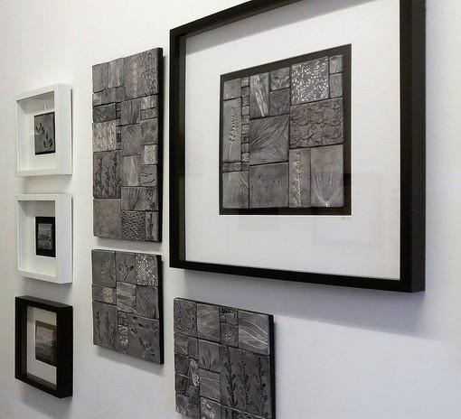 black and greys in studio