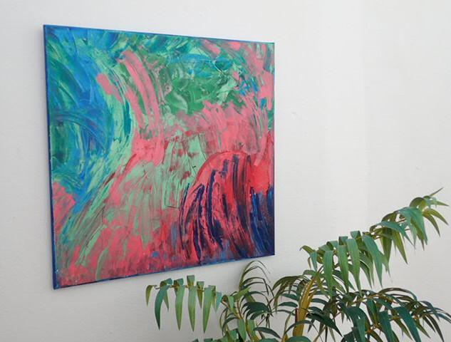 Colours 60x60cms  €175