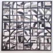 Monochrome Squares  60x60cms  €175