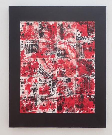 RedWhiteBlack_40x50cms  €95