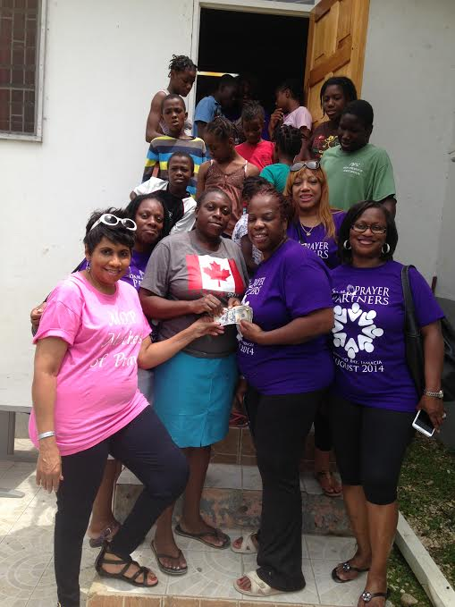 Donation to a Jamaican Orphanage