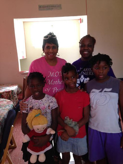 Dr. Jackson at Jamaica Orphanage