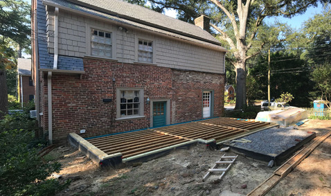 09.22.2018 Foundation and Floor Framing