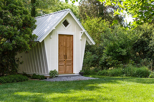 Garden Shed, Construction Plans, Directions, and Materials List