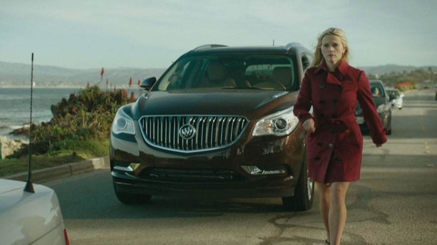 """Reese Witherspoon's character exits her Buick in """"Big Little Lies"""""""