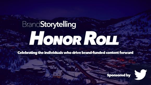 Nominate a Brand Storyteller for the Inaugural BrandStorytelling Honor Roll