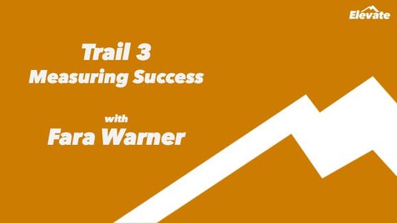 Q&A with 'Elevate' Trail Leader, Digital Media Expert Fara Warner