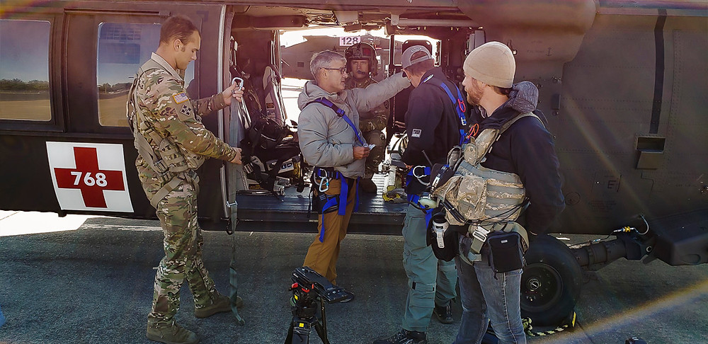 """Cruce Directing on location for """"Love the Mission"""""""