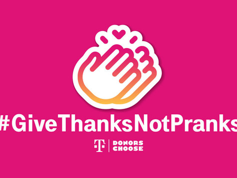 This April Fools' Day, Give Thanks, Not Pranks with T-Mobile