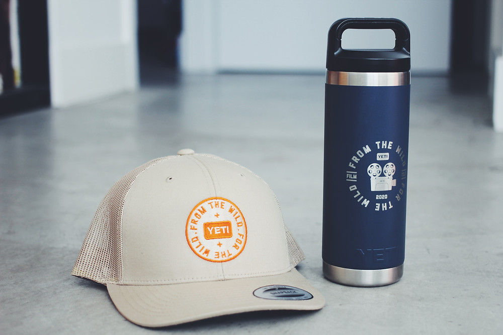limited edition hats and bottles were given out at the film screening