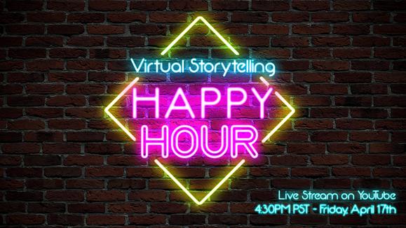 Virtual Storytelling Happy Hour
