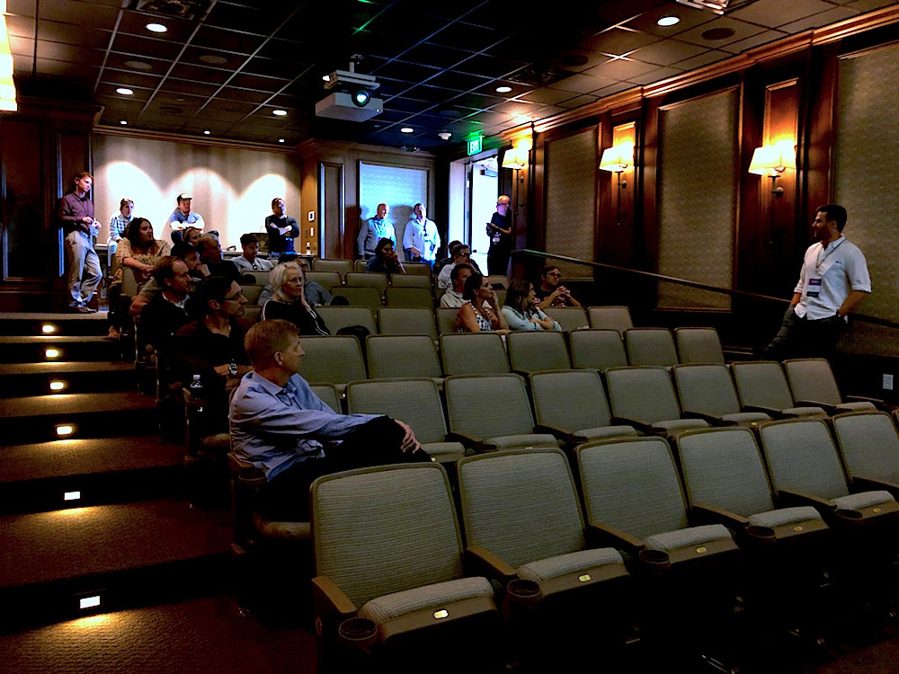Chris Pendl presents Airstream Content in the Elevate Screening Theater