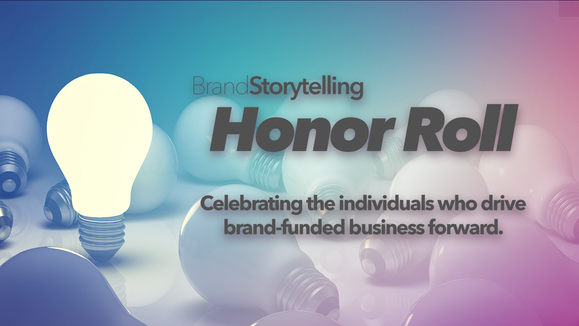 Announcing the 2021 Brand Storytelling Honor Roll