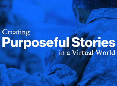 Creating Purposeful Stories in a Virtual World