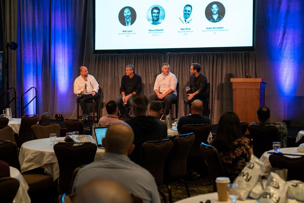 "Brett Lyons, Marcus Peterzell, Matt Wind, and Austin Schumacher - Panelists on the ""Distribute"" Trail"