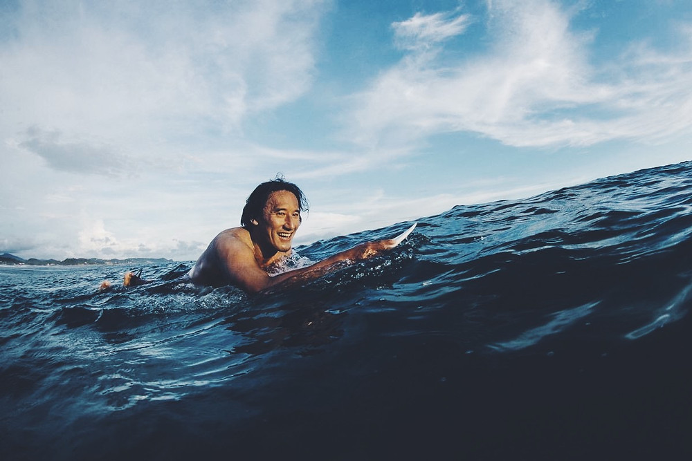 "World-Class climber and filmmaker Jimmy Chin in ""Sandbagging Jimmy Chin"""