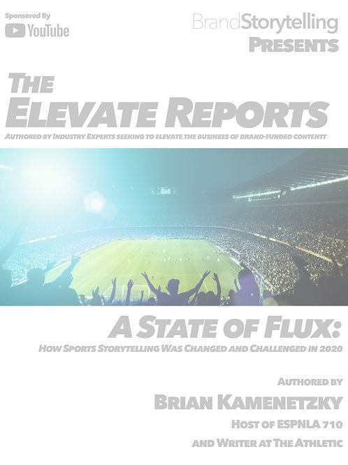 A State of Flux: How Sports Storytelling was Changed and Challenged in 2020