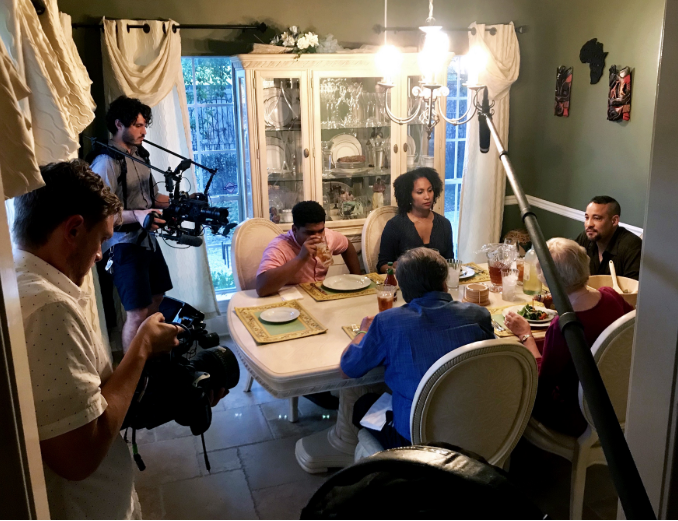 "Filming ""Secret Album"" in New Orleans for our History of Memory series with HP, which won a Tribeca X Award for Best Episodic series. June 2018."