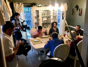 """Filming """"Secret Album"""" in New Orleans for our History of Memory series with HP, which won a Tribeca X Award for Best Episodic series. June 2018."""