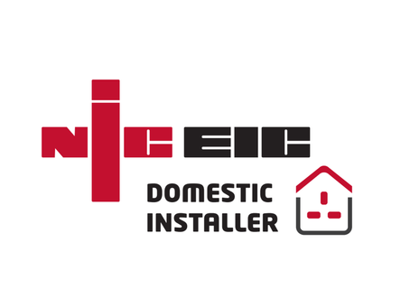We are now NICEIC approved Domestic Installer!