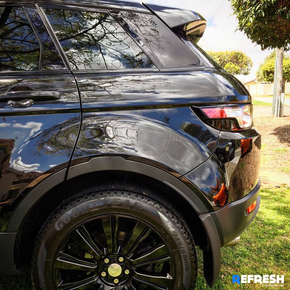 Range Rover Evoque Mobile Car Wash Perth WA