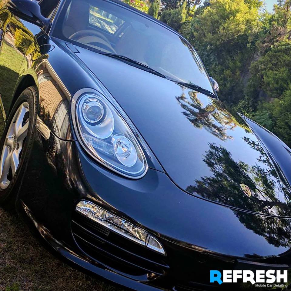 Porsche Boxster Car Detailing by Refresh