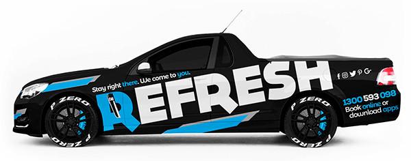 Refresh Holden Promo Ute