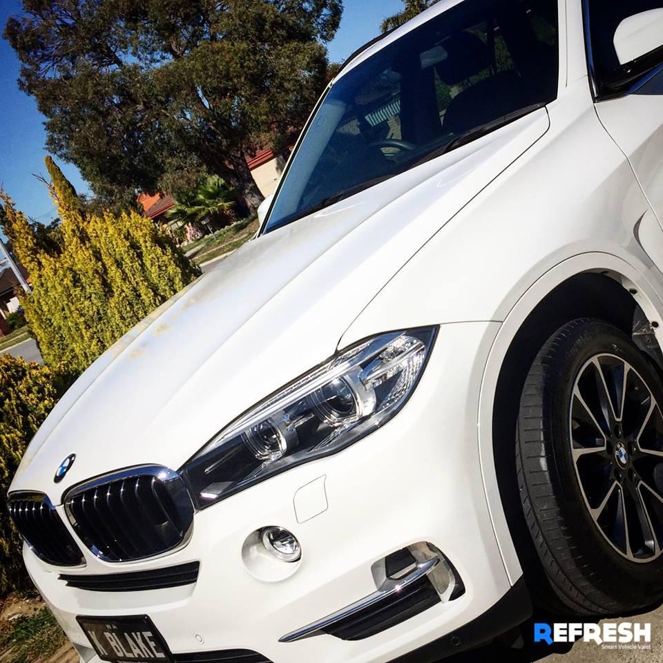 BMW X3 Car Wash near Perth CBD