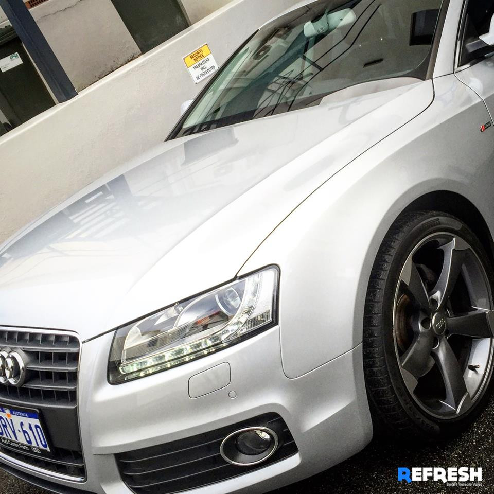 Car Wash Canning Vale Peth WA - Audi A5 using Refresh Valet