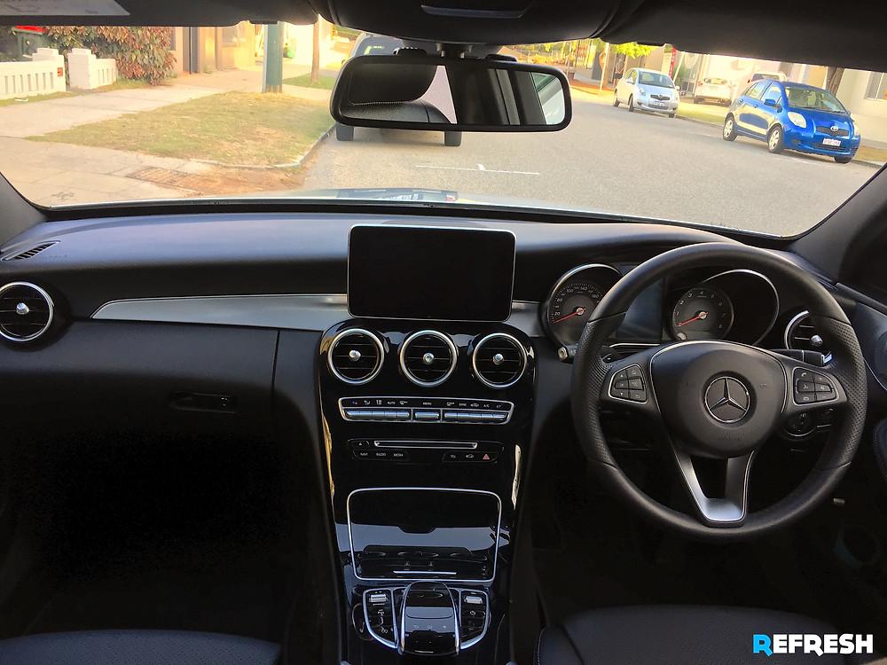 2016 Mercedes C200 Mobile Car Detail By Refresh Valet Perth