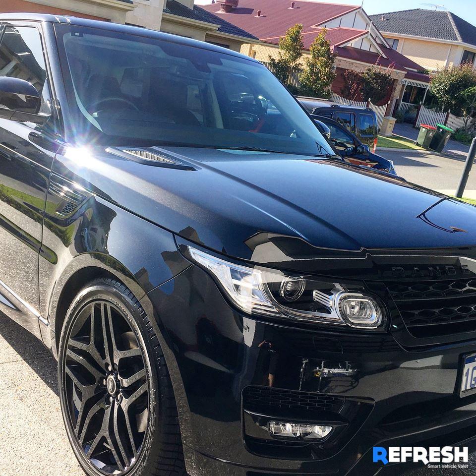 Range Rover Sport Car Wash by Refresh