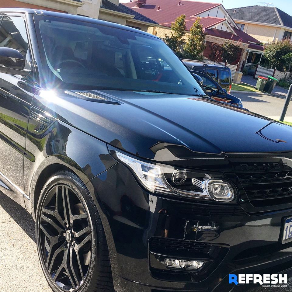 Range Rover Mobile Car Detail by Refresh