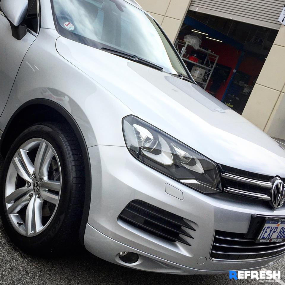 Caltex Car Wash Perth VW Toureg at Refresh Mobile Car Detailing