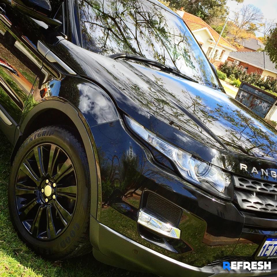 Range Rover Car Wash Perth North
