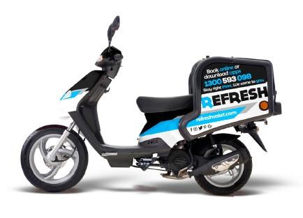 Refresh Scooter CBD Detailing