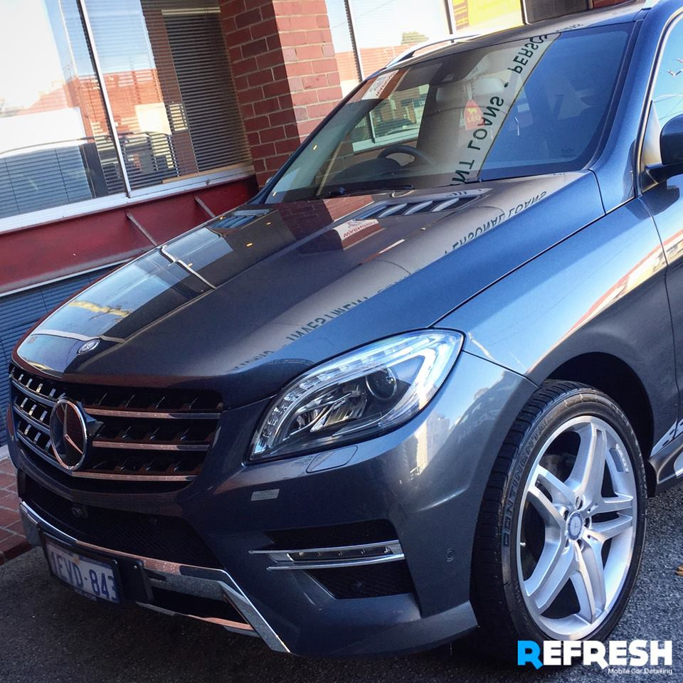 Mercedes ML Hand Carwash in Perth by Refresh Mobile Car Detailing