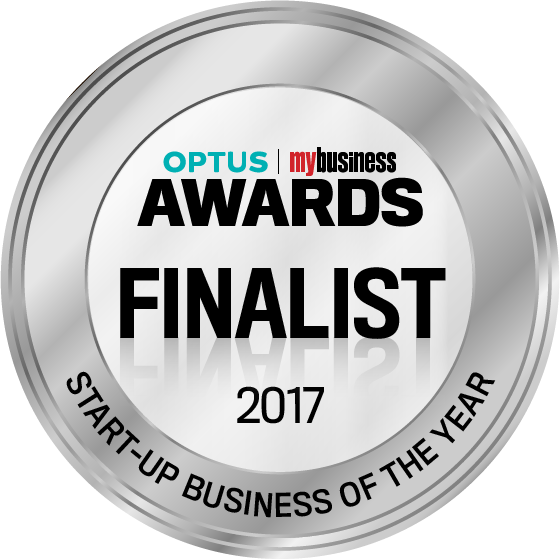 Optus My Business Awards Finalist - Start-up Business of the year