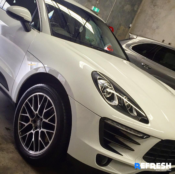DIY Car Wash Perth user chooses Refresh Mobile Car Detailing for their Porsche Cayenne