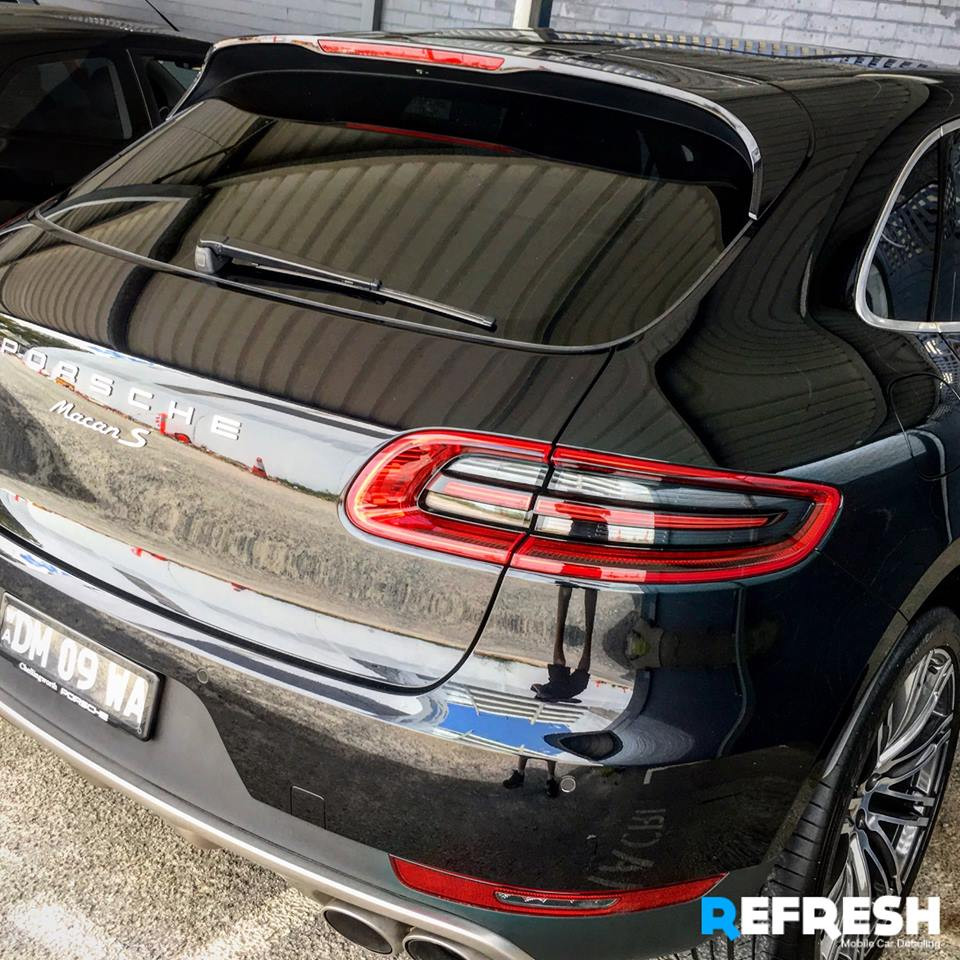 Porsche Macan S Claremont Carwash by Refresh Mobile Car Detailing