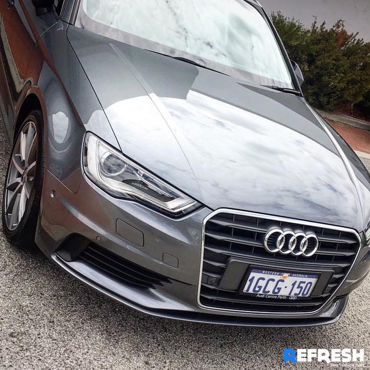 Audi A4 Car Cleaning Perth