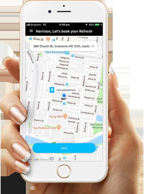 On-Demand Car Detailing App Melbourne