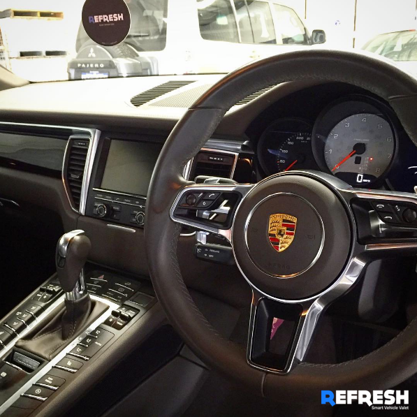 Car Detailing South of Perth - Porsche SUV Interior & exterior, full hand detail $69!