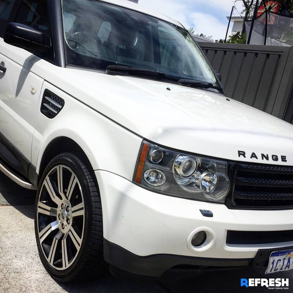 Range Rover Mobile Carwash Near East Perth