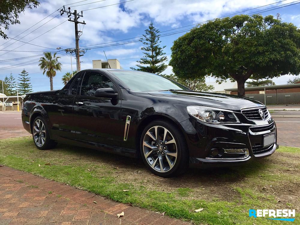 2014 SSV Holden Ute dark window tint