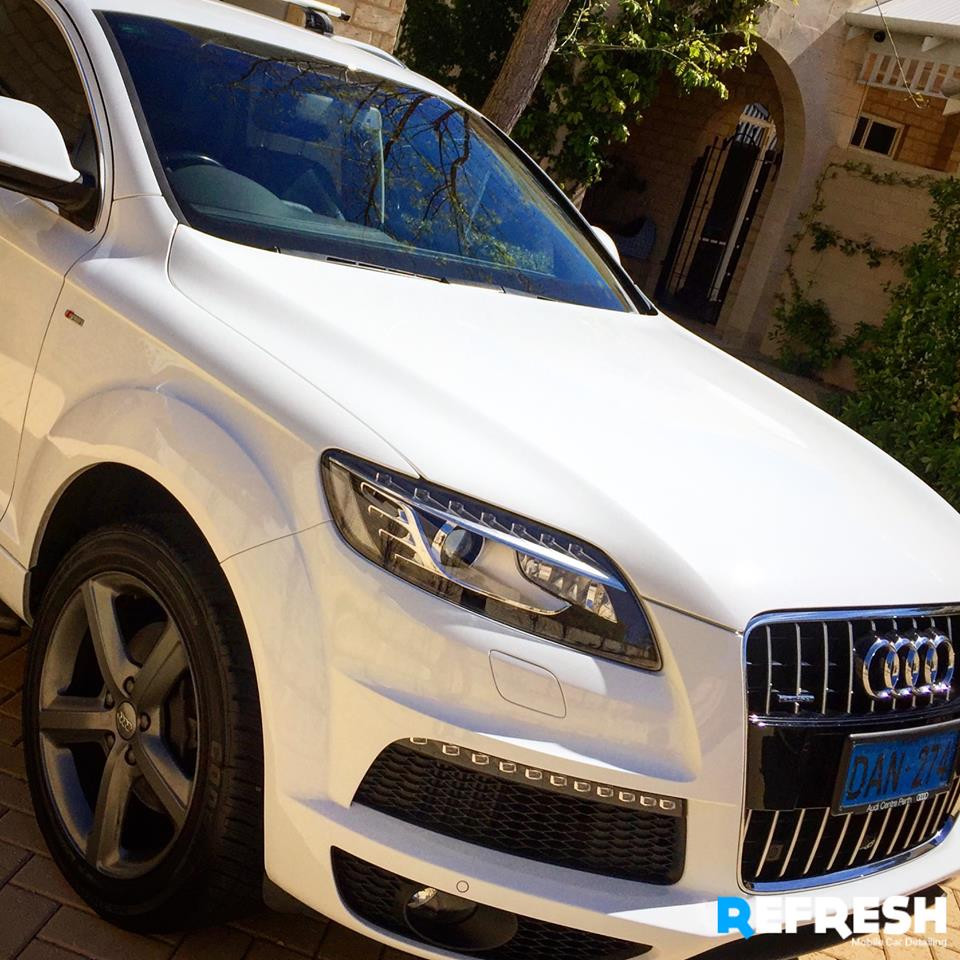 Audi Q7 Car Cleaning by Refresh Perth