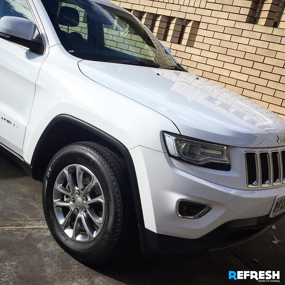 Car Detailing Perth - Refresh Valet - Jeep Cherokee